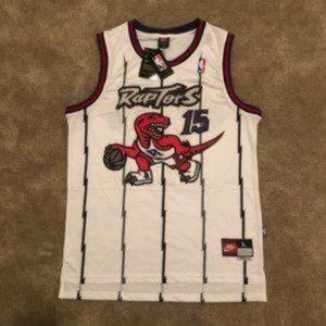 MEN #15 Vince Carter Toronto Raptors NBA Jersey